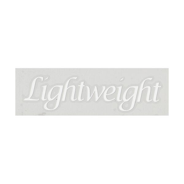 Lightweight(ライトウェイト)ロゴステッカー(ホワイト)