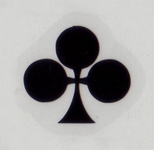 COLNAGO(コルナゴ)クローバーイメージステッカー(ブラック / W2.2 / H1.9)