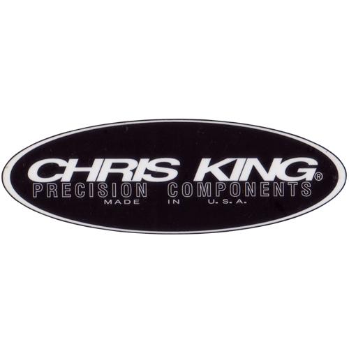 CHRIS KING(クリスキング)ロゴステッカー(ブラック)