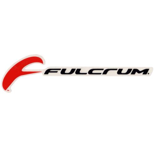 FULCRUM(フルクラム)ロゴステッカー(PRINT DECAL / ブラック / レッド)