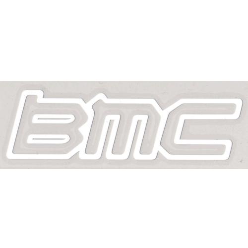 BMC(ビーエムシー)ロゴステッカー(アウトラインタイプ / ホワイト)