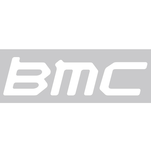 BMC(ビーエムシー)ロゴステッカー(ホワイト)