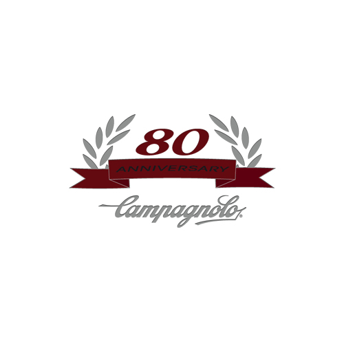 CAMPAGNOLO(カンパニョーロ)80周年記念ロゴステッカー