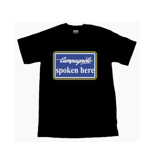 CAMPAGNOLO(カンパニョーロ)Tシャツ(Eデザイン / spoken here)