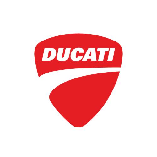 DUCATI(ドカティ)ロゴマークステッカー(Aデザイン)