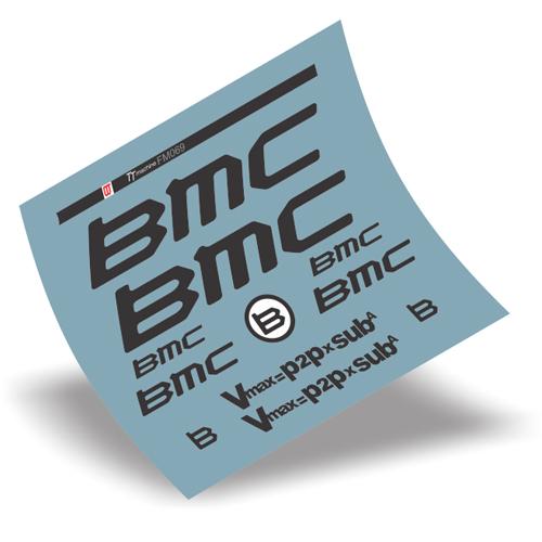 BMC(ビーエムシー)TT Machine フレーム用ステッカーセット(ブラック)