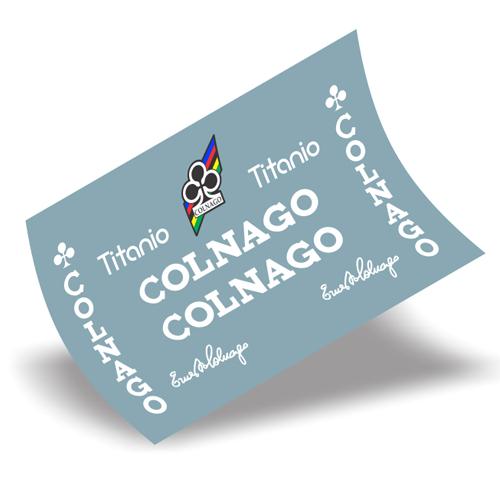 COLNAGO(コルナゴ)TITANIO(チタニオ)フレーム用ステッカーセット(ホワイト)