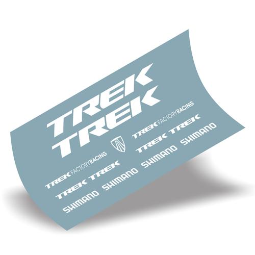 TREK(トレック)MADONE(マドン)9 カーボンフレーム用ステッカーセット(ホワイト)