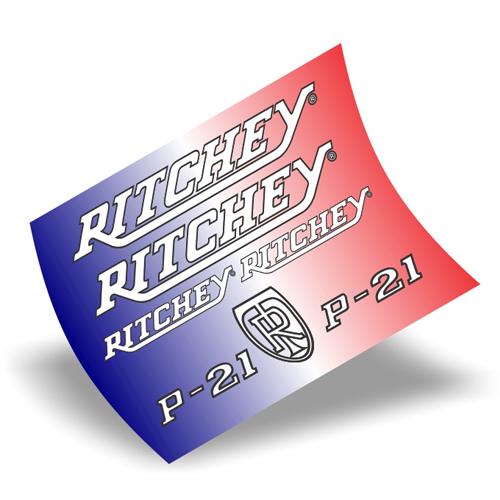 Ritchey(リッチー)P-21 フレーム用ステッカーセット