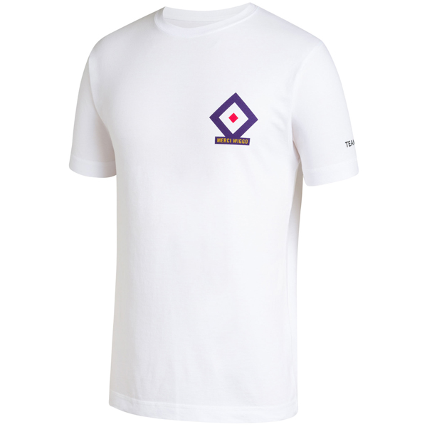 Rapha(ラファ)WIGGINS(ウィギンス)Roubaix(ルーベ)Tシャツ(ホワイト)