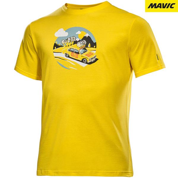 MAVIC(マビック)SSC YELLOW CAR Tシャツ(イエロー01)