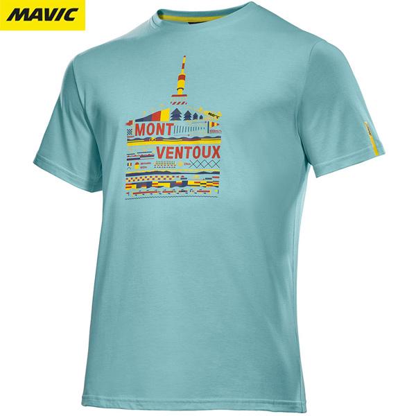 MAVIC(マビック)VENTOUX(ヴァントゥ)Tシャツ(ブルー)
