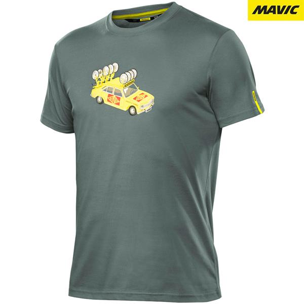 MAVIC(マビック)SSC YELLOW CAR Tシャツ(GREEN BALSAM)