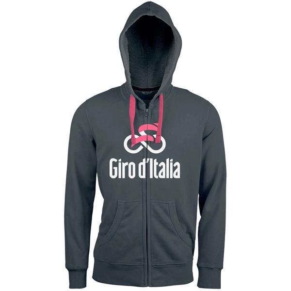 GIRO de ITALIA(ジロデイタリア)HOODYスウェットシャツ(2018 / アンスラサイト)
