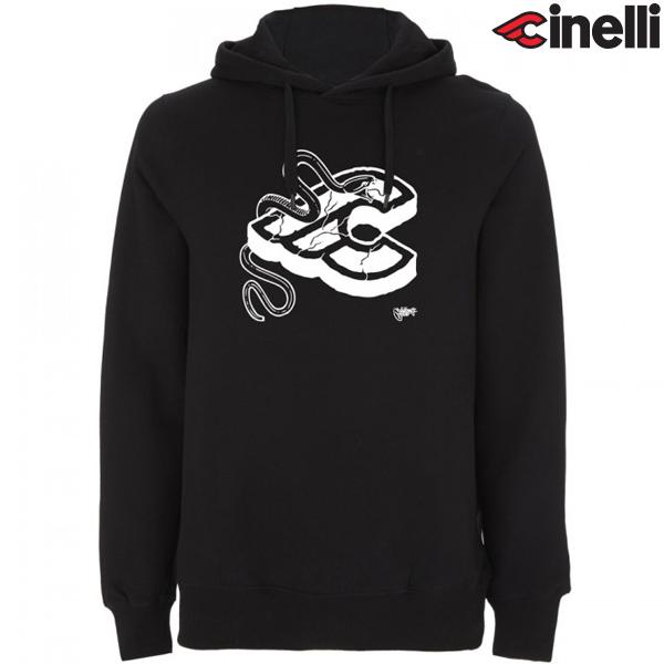Cinelli(チネリ)HOODIE(フーディ)スウェットシャツ(MIKE GIANT(マイクジャアント) / ブラック)