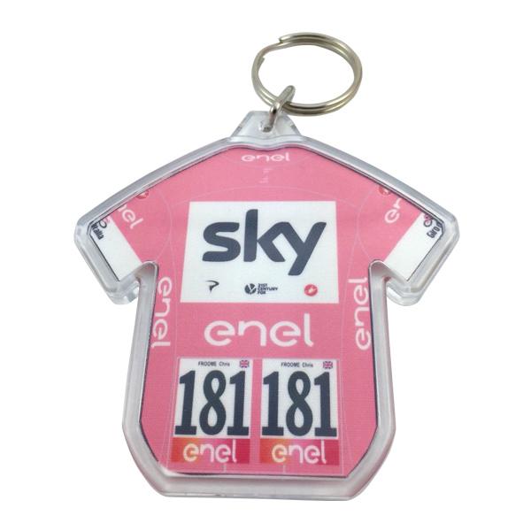 Team sky(チームスカイ)Chris Froome(クリスフルーム)ジャージキーリング(2018 Giro de Italia総合優勝記念)