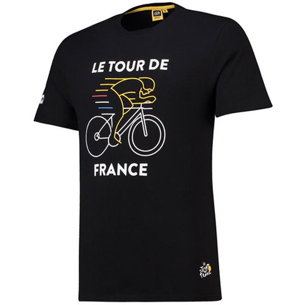 TOUR de FRANCE(ツールドフランス)Tシャツ(Graphic / ブラック)