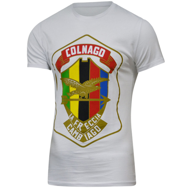 COLNAGO(コルナゴ)Tシャツ(FRECCIA CAMBIAGO / ホワイト)