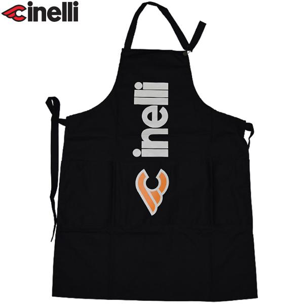 Cinelli(チネリ)TONI OVERALL(トニ オーバーオール)オリジナルエプロン(ブラック)