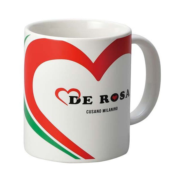 DE ROSA(デローザ)コーヒーマグカップ(ホワイト)