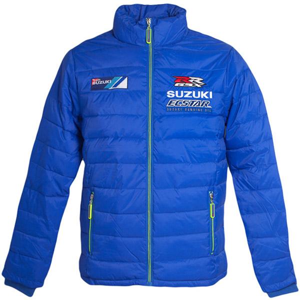 Team SUZUKI ECSTAR MotoGP バブルジャケット(ブルー)