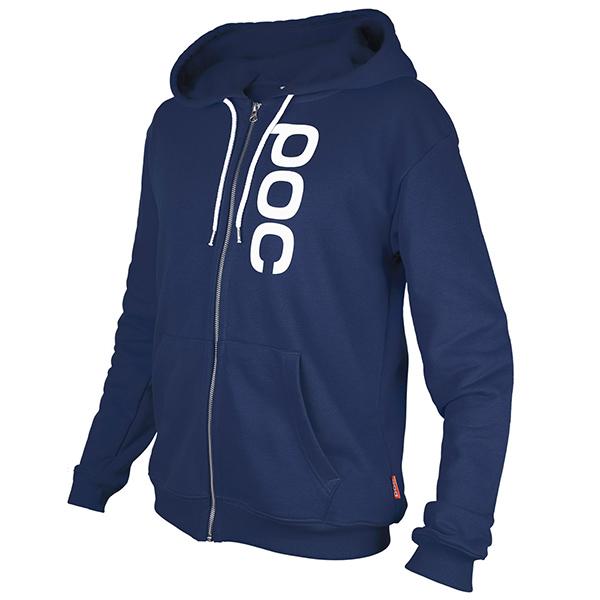 POC(ポック)HOOD ZIP スウェットシャツ(ブルー)