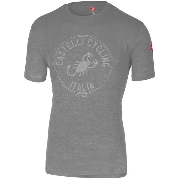 CASTELLI(カステリ)ARMANDO Tシャツ(グレー)