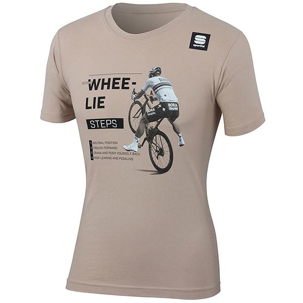sportful(スポーツフル)SAGAN WHEE-LIE(サガン  ホイーリー)Tシャツ(ベージュ)
