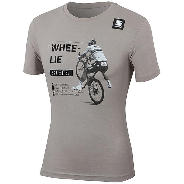 sportful(スポーツフル)SAGAN WHEE-LIE(サガン ホイーリー)Tシャツ(グレー)