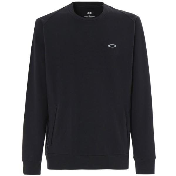 OAKLEY(オークリー)LINK CREW(リンククルー)スウェットシャツ(ブラック)