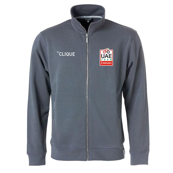 Clique(クリーク)UAE Team Emirates スウェットシャツ(グレー)