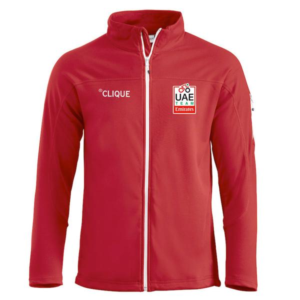 Clique(クリーク)UAE Team Emirates DUCAN スウェットシャツ(レッド)