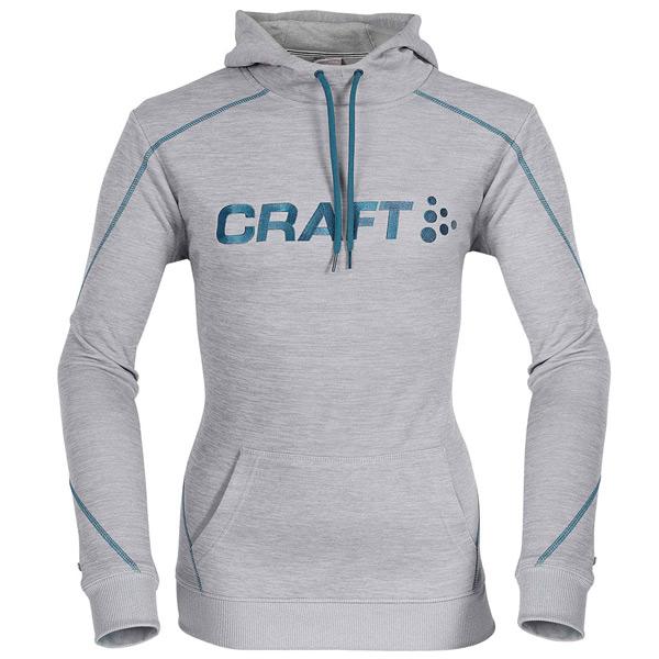 CRAFT(クラフト)ロゴスウェットシャツ(グレー / ブルーライン)