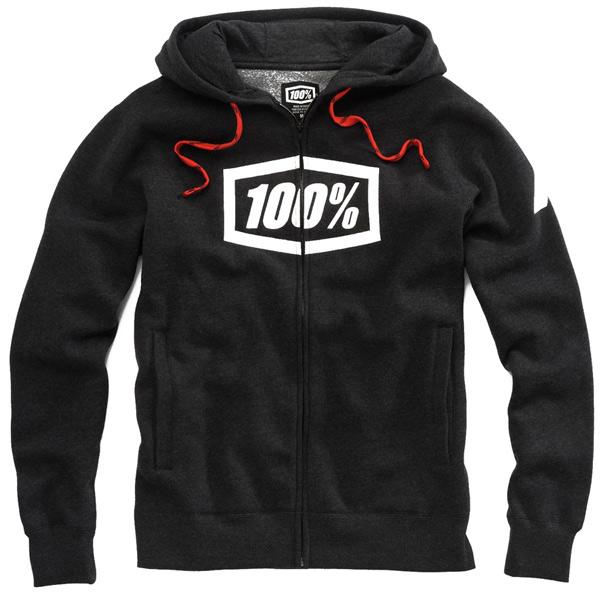 100% SYNDICATE スウェットシャツ(ブラック / ホワイト)