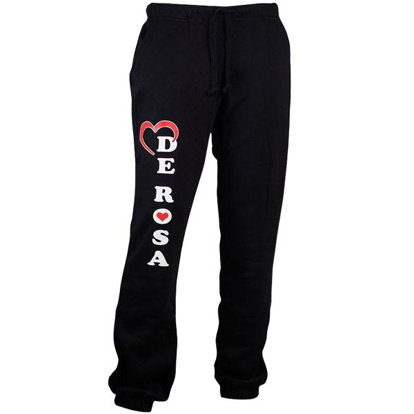 DE ROSA(デローザ)スポーツパンツ(ブラック)