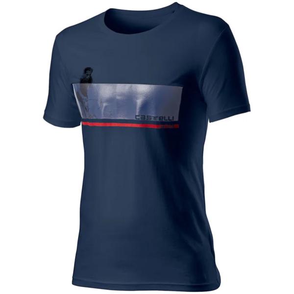 CASTELLI(カステリ)FENOMENO(フェノメノ)Tシャツ(ダークブルー)