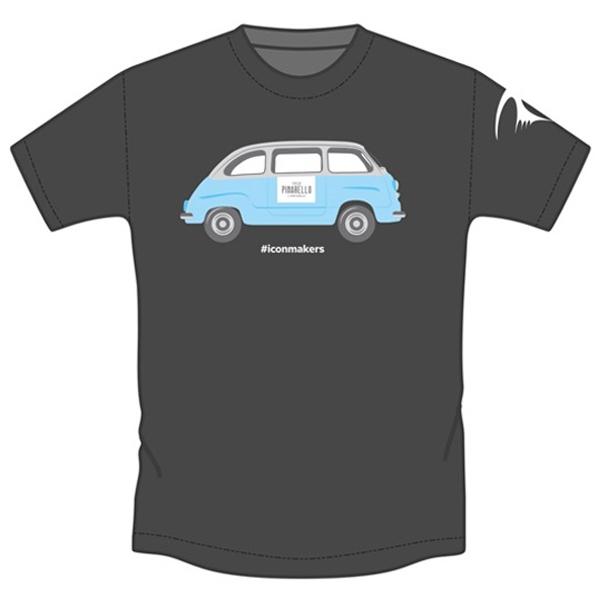 PINARELLO(ピナレロ)MULTIPLA(マルチプラ)Tシャツ(グレー)