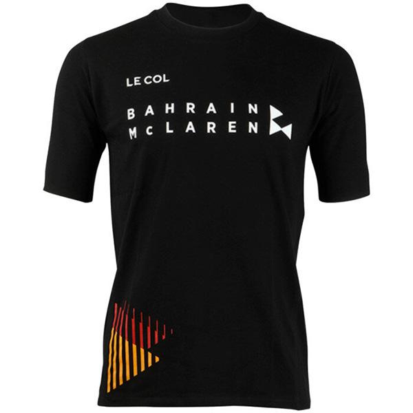 LE COL(ルコル)TEAM BAHRAIN MCLAREN(チームバーレーン マクラーレン)Tシャツ(2020 / ブラック)