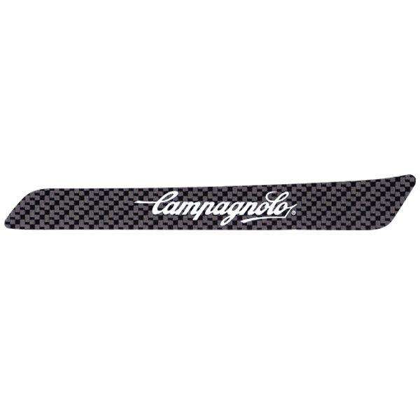 CAMPAGNOLO(カンパニョーロ)チェーンステー用ロゴステッカー(カーボンブラック調)
