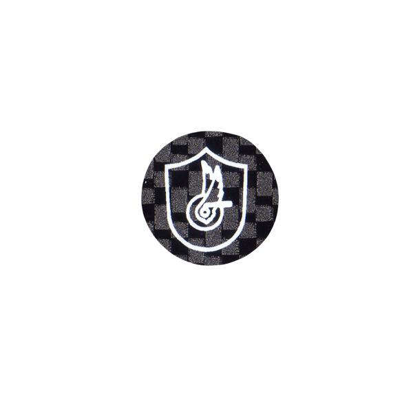 CAMPAGNOLO(カンパニョーロ)ロゴステッカー(サークルタイプ / カーボンブラック調)