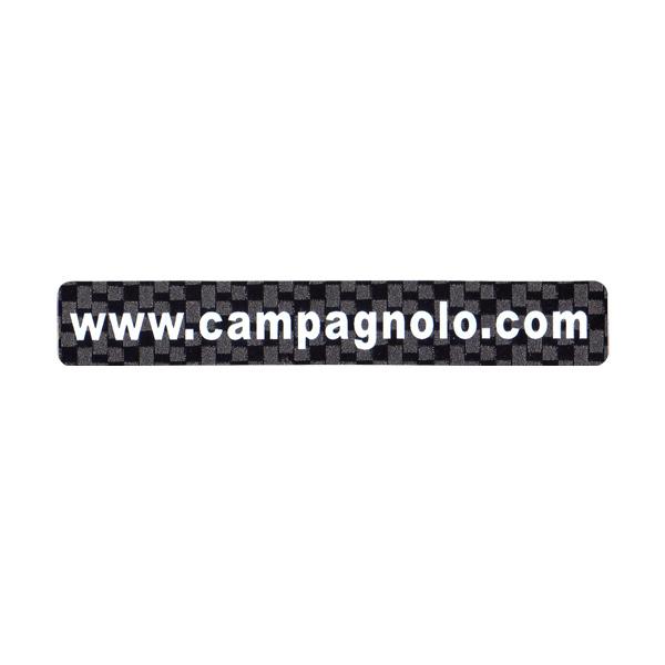 CAMPAGNOLO(カンパニョーロ)ロゴステッカー(ドメインタイプ / カーボンブラック)