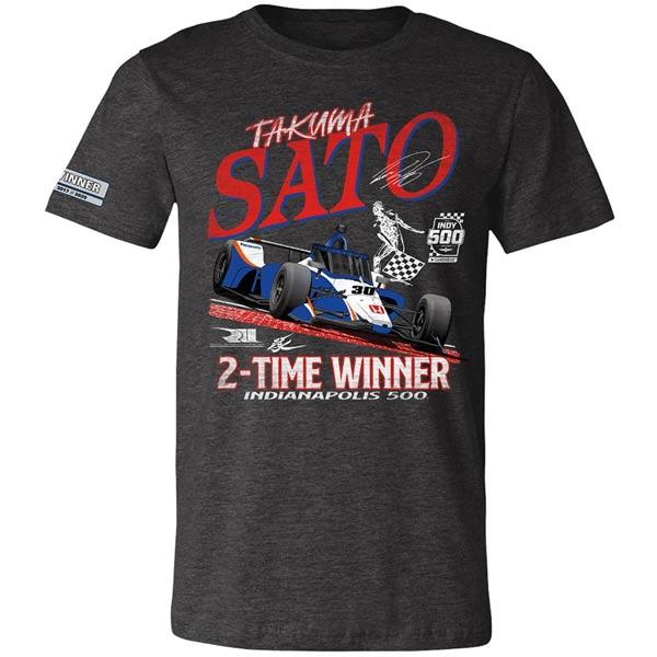 Takuma Sato(佐藤琢磨) 2020 Indy 500 Winners Tシャツ