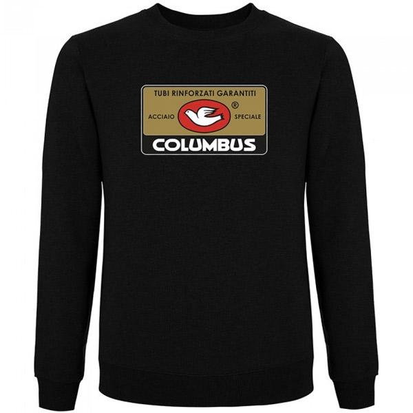 Columbus(コロンバス)Tag CREWNECK Sweatshirt(タグ クルーネック スウェットシャツ)スウェット(ブラック)