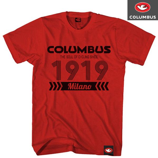 COLUMBUS(コロンバス)1919 Tシャツ(レッド)