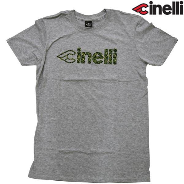 Cinelli(チネリ)CORK CAMO(コルク カモ)Tシャツ(グレー)