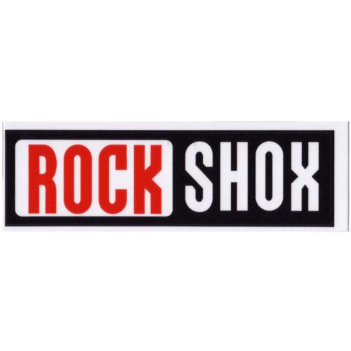 ROCK SHOX(ロックショックス)ロゴステッカー(Cデザイン / W13.4 / H3.3)
