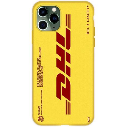 DHL(ディーエイチエル)iPhone ソフトカバー(Bデザイン / イエロー)