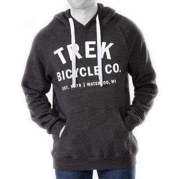 TREK CO(トレック)HOODIE SWEATSHIRT(フーディ スウェットシャツ)(ブラック)