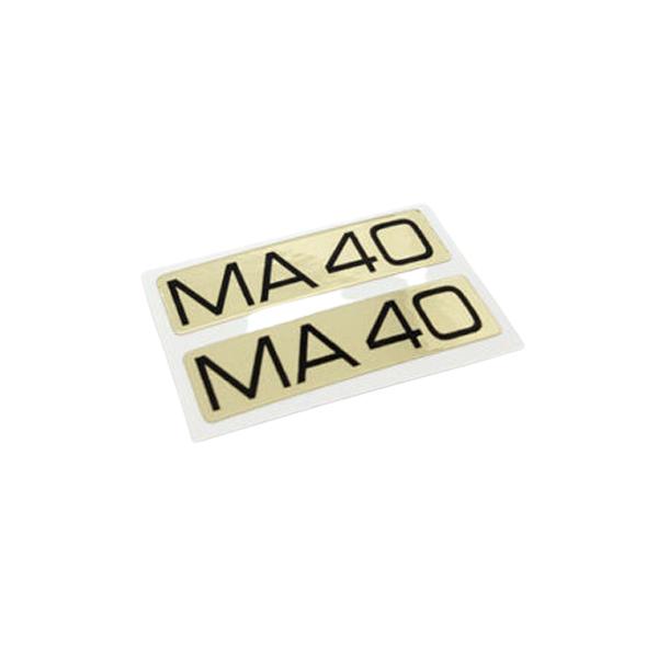 MAVIC(マビック)ビンテージリムステッカー(MA40/ブラック)