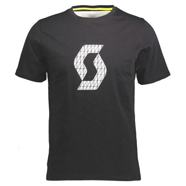 SCOTT(スコット)ICON FACTORY TEAM(アイコン ファクトリーチーム)Tシャツ(ブラック)